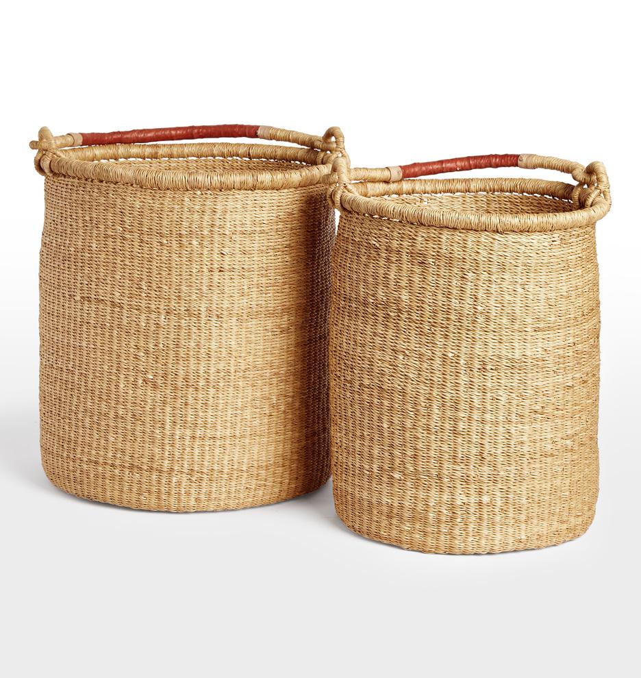 Tall Narrow Storage Basket: Super Tall Narrow Basket #PF23