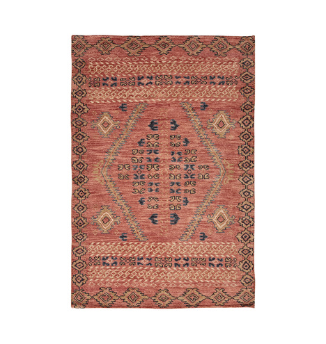 Adair Hand Knotted Rug Rust Rejuvenation