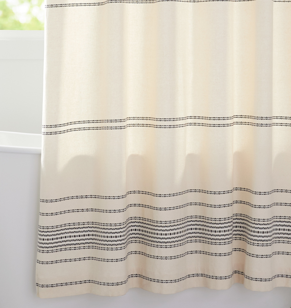 grey gray white image full color stri for multi rsrs target kitchen curtain shower ticking striped stripe colored west elm coloured beaded curtains