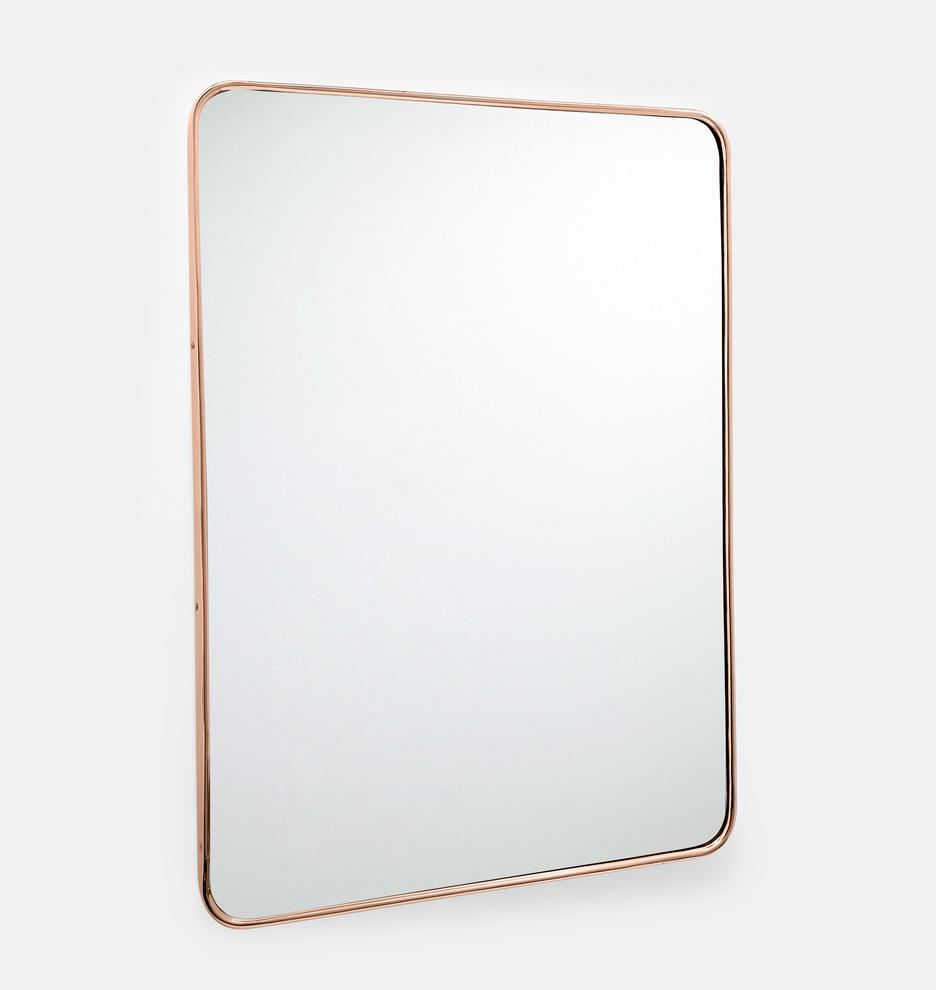 Metal Framed Mirror - Rounded Rectangle | Rejuvenation