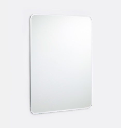 20 Quot X 30 Quot Rectangular Frameless Mirror Rejuvenation