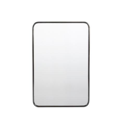 rounded rectangle metal framed mirror rejuvenation - Metal Mirror Frame