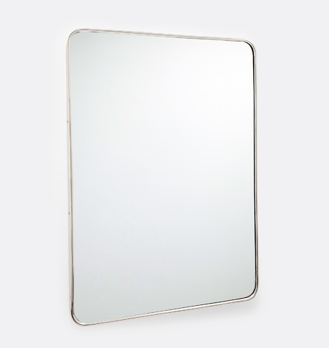 20 Quot X 30 Quot Rounded Rectangle Metal Framed Mirror Rejuvenation
