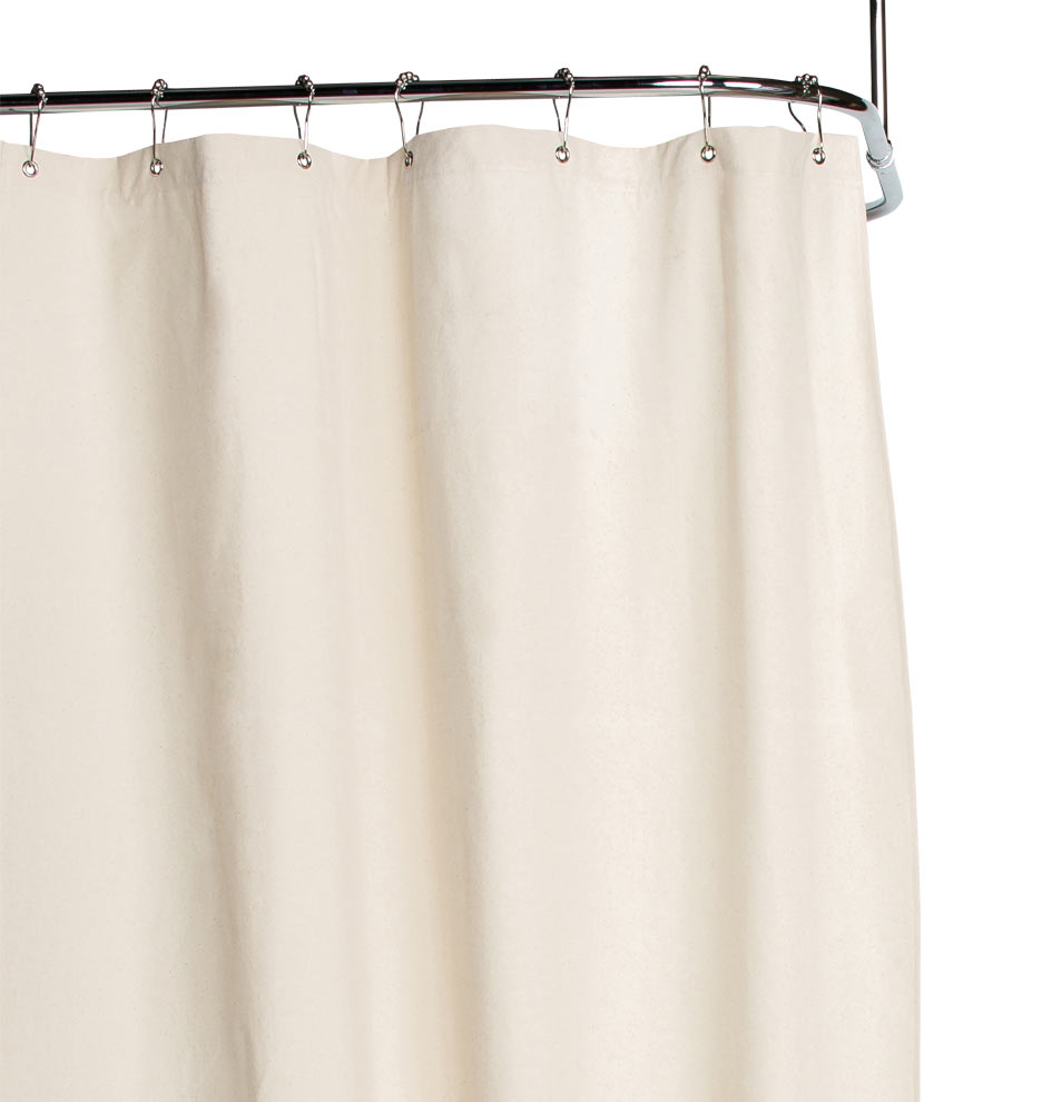 ... Natural Duck Cloth Shower Curtain. Ships FREE. 140710 Rw Y14b04 U Ko  200 E5037