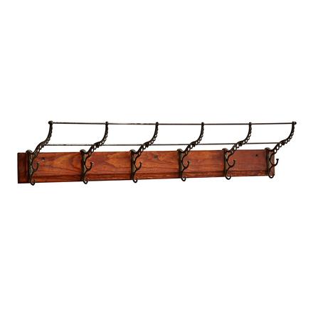 Victorian 6 Hook Rack