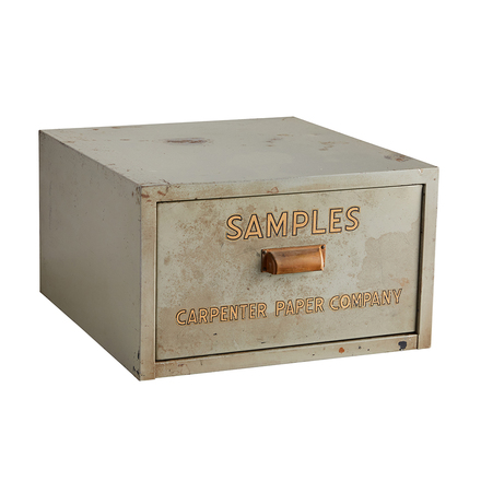 One Drawer Steel Filing Cabinet By Carpenter Paper Co