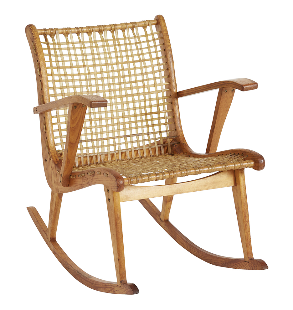 Fine Mid Century Modern W F Tubbs Sno Shu Rocking Chair Alphanode Cool Chair Designs And Ideas Alphanodeonline