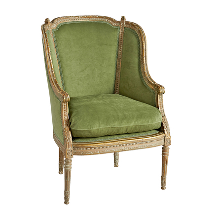 Louis XVI Upholstered Arm Chair