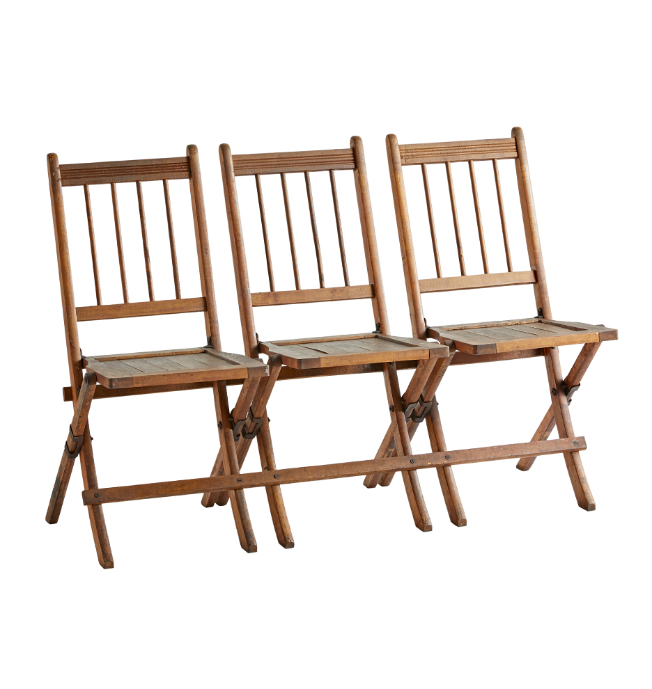 Wondrous 3 Seat Tandem Folding Bench Gmtry Best Dining Table And Chair Ideas Images Gmtryco