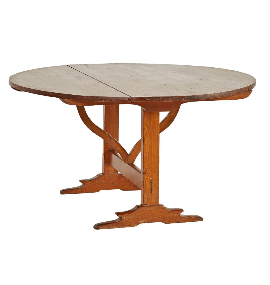 Pine Dining Table w/ Tilt Top