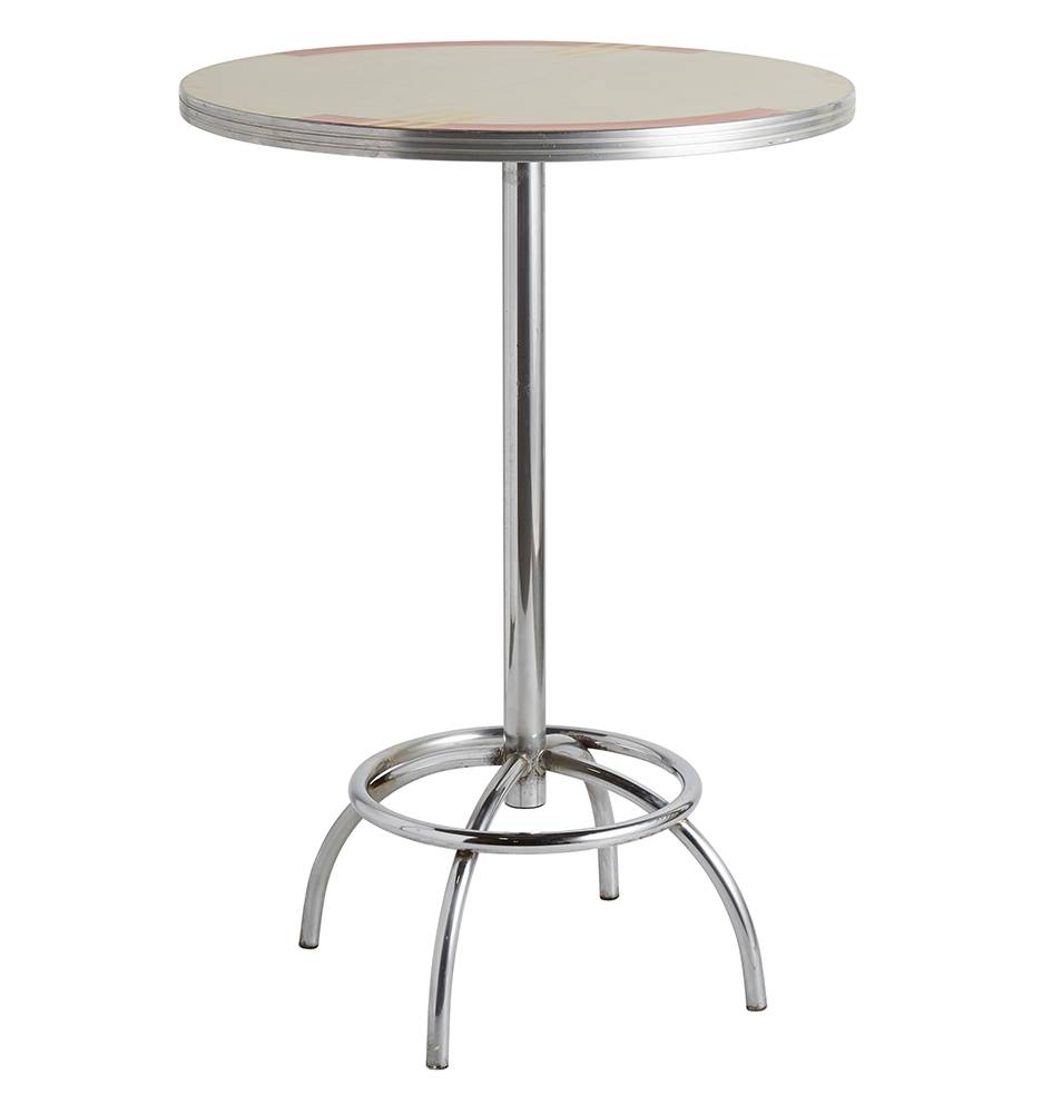 Wooden Metal Dining Tables Rejuvenation - Cafe table and stools