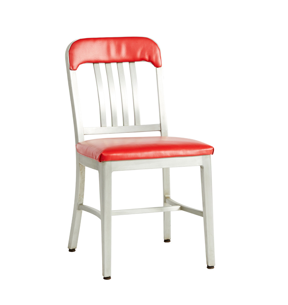 Stupendous Goodform Mid Century Aluminum Chair Bralicious Painted Fabric Chair Ideas Braliciousco