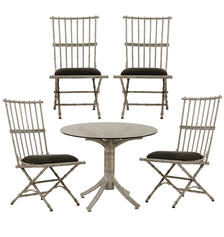 Set Of Cast Aluminum Patio Furniture Rejuvenation