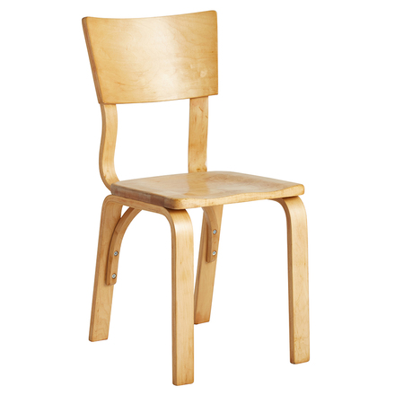 Maple Bentwood Dining Chair By Thonet