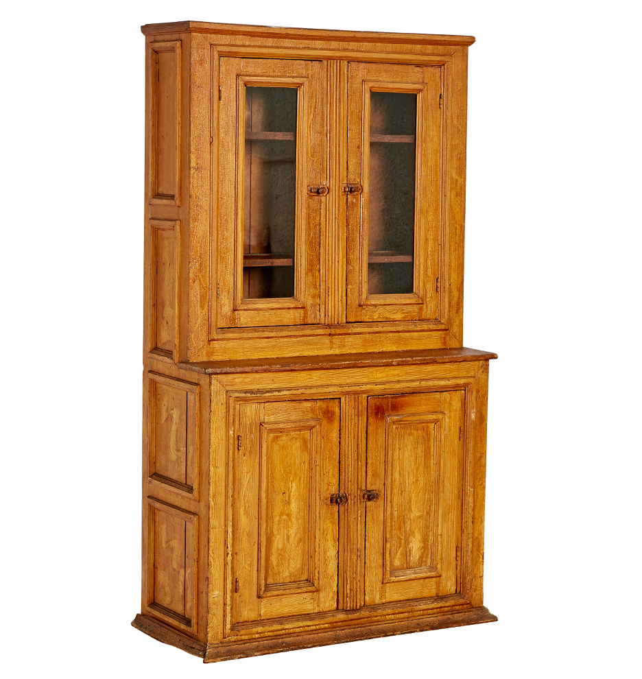 ... Cabinet W/ Painted Wood Grain. F8719 Wk50 C1 180112 001 F8719