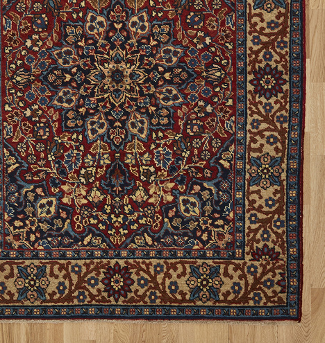 Traditional Sivas Turkish Rug W Densely Patterned