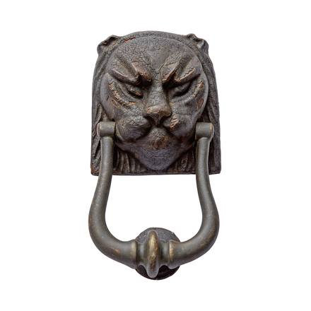 Delicieux Magnificent 18th Century Lion Door Knocker