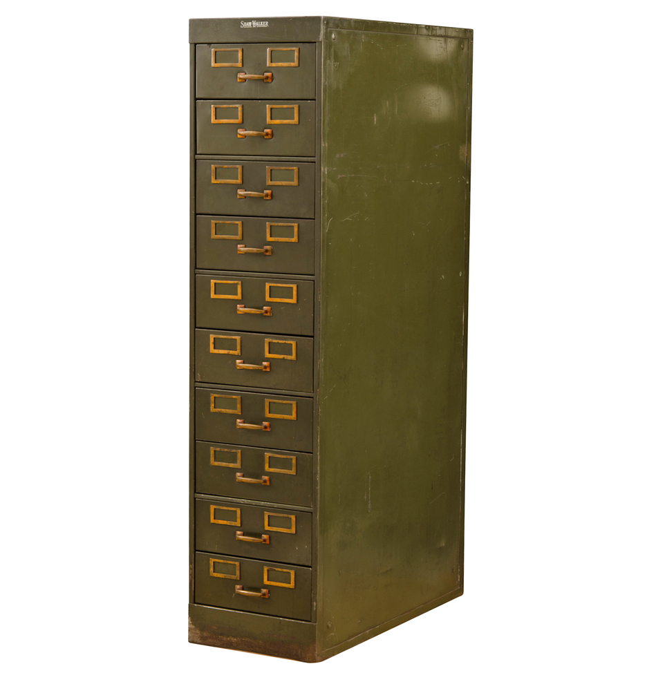 Awesome Art Metal File Cabinet