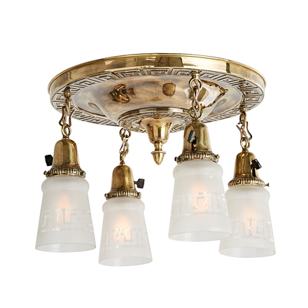 Antique Ceiling Lights Vintage Ceiling Lights Rejuvenation - 1930's kitchen light fixtures