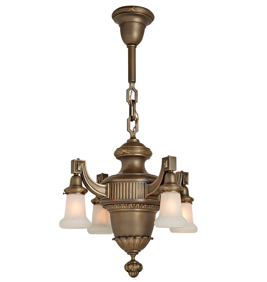 Large classical revival chandelier w bound fasces motif r7391 wk32 170908 02 r7391 r7391 wk32 170908 01 r7391 arubaitofo Gallery