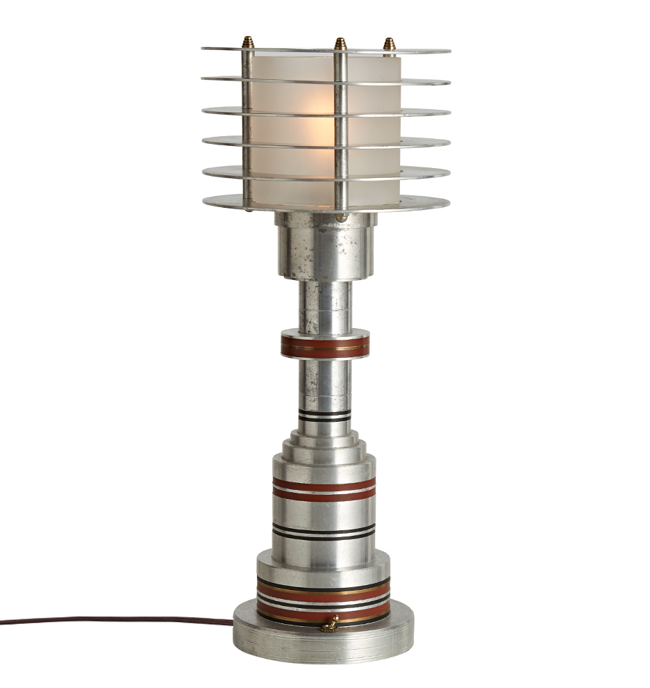 Extremely Rare Walter von Nessen Table Lamp