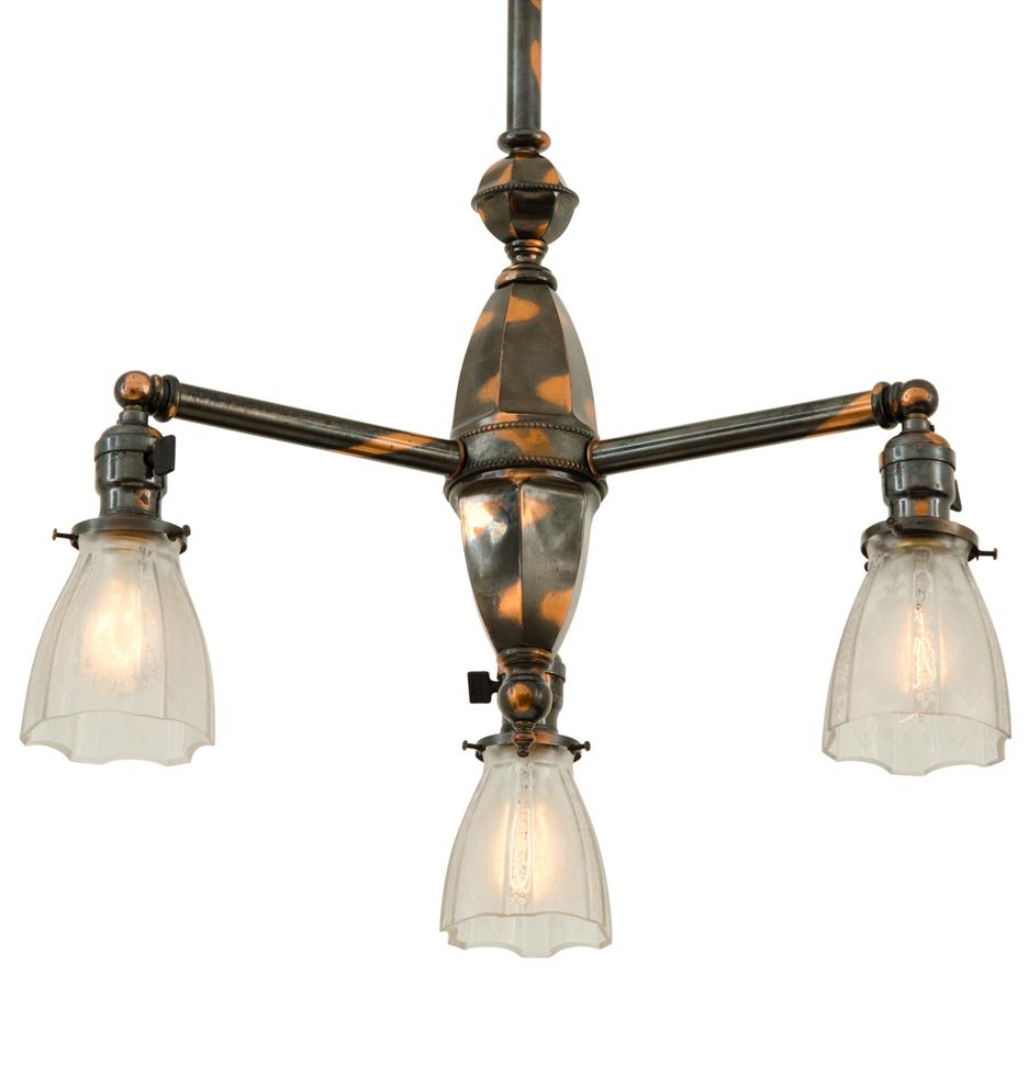 Japanned copper 3 light chandelier by beardslee rejuvenation 3 light chandelier by beardslee r9271a r9271 arubaitofo Images