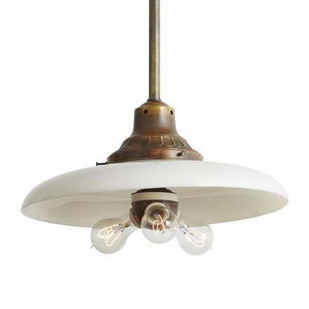 Retro pendant lighting fixtures Bulb Edison Pendant W Reflector 3bulb Cluster Rejuvenation Antique Lighting Vintage Pendant Lighting Rejuvenation