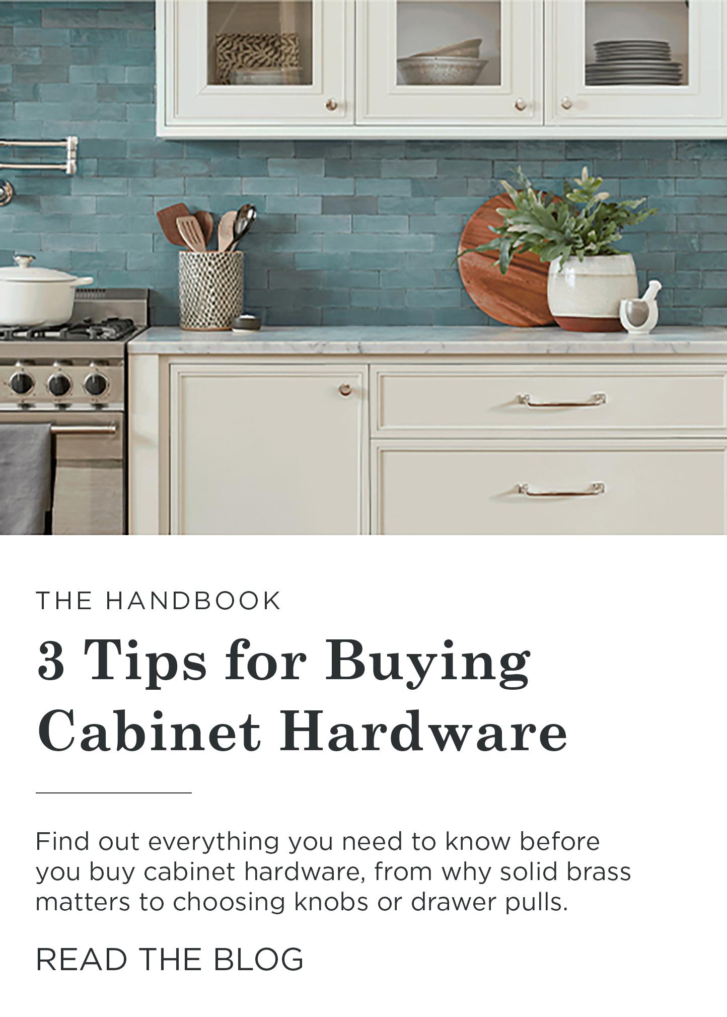 Cabinet Hardware Rejuvenation