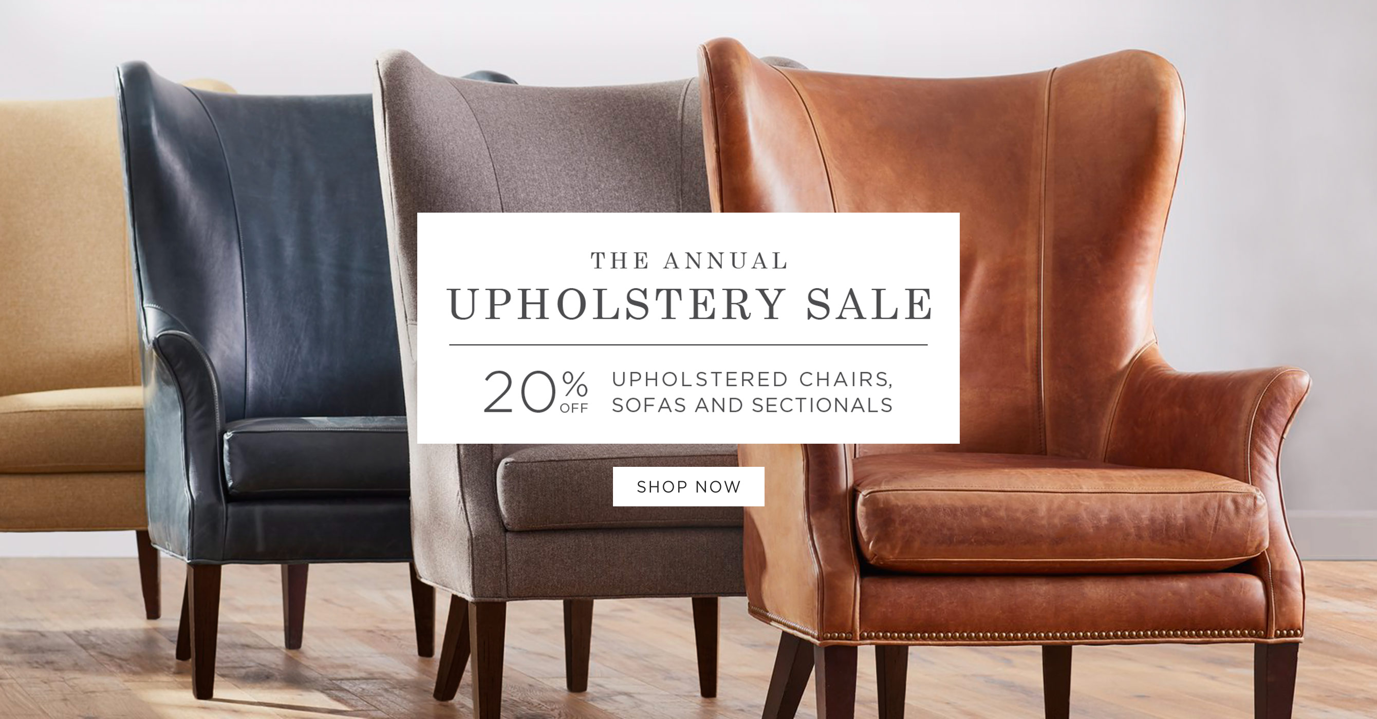 Shop The Upholstery Sale