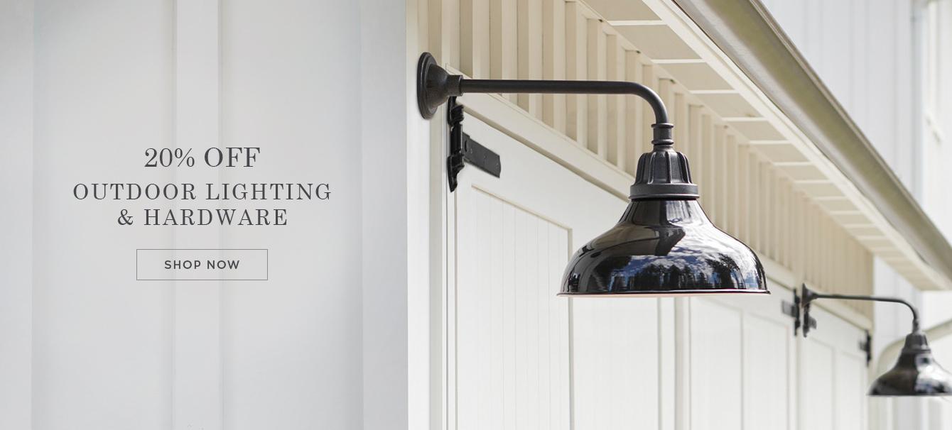 Outdoor Lighting & Hardware Sale