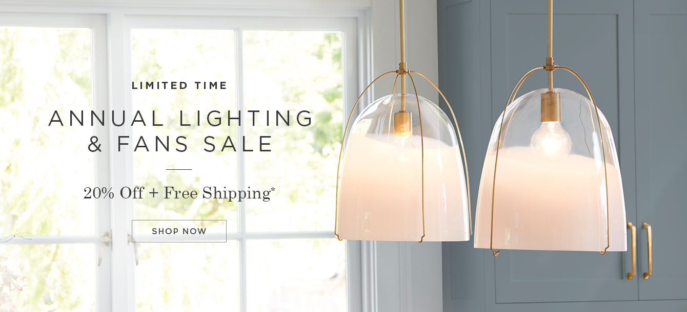 Lighting & Fans Sale