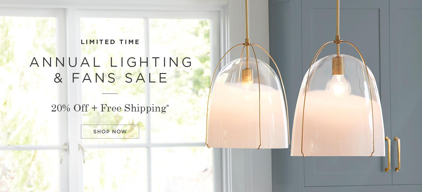Lighting & Fans Sale