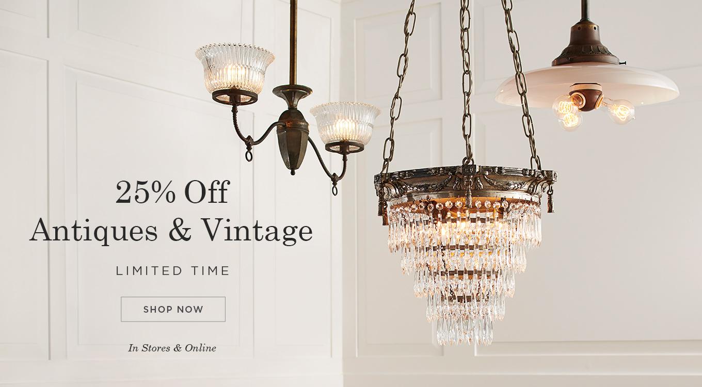 25% Off Antiques & Vintage