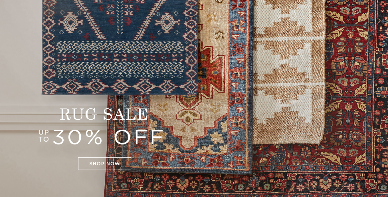 Save up to 30% on Rugs