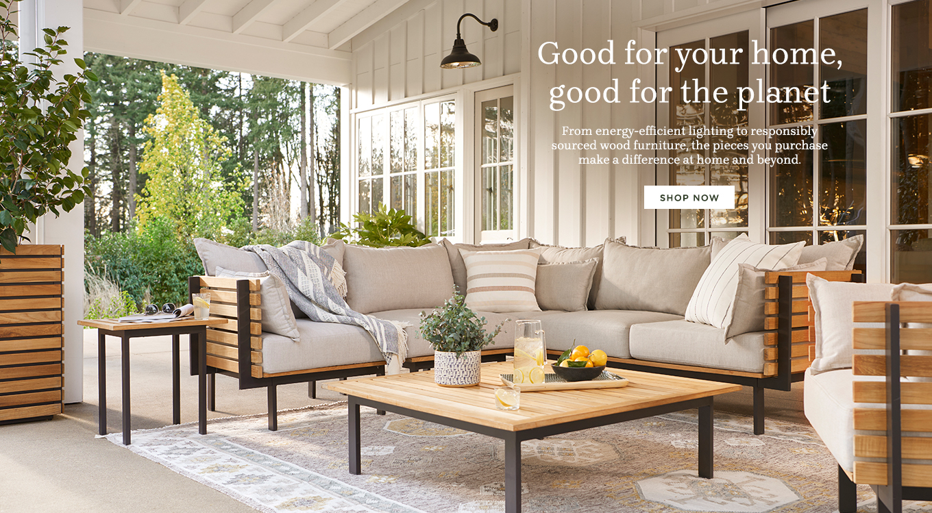 Good for your home, good for the planet