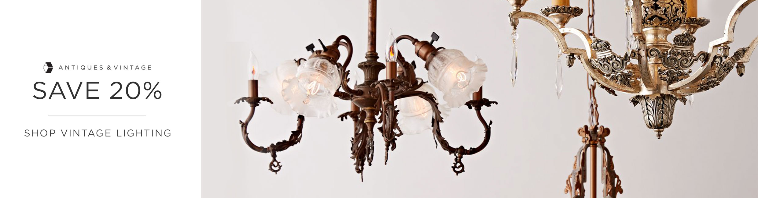 Antiques & Vintage Sale Lighting