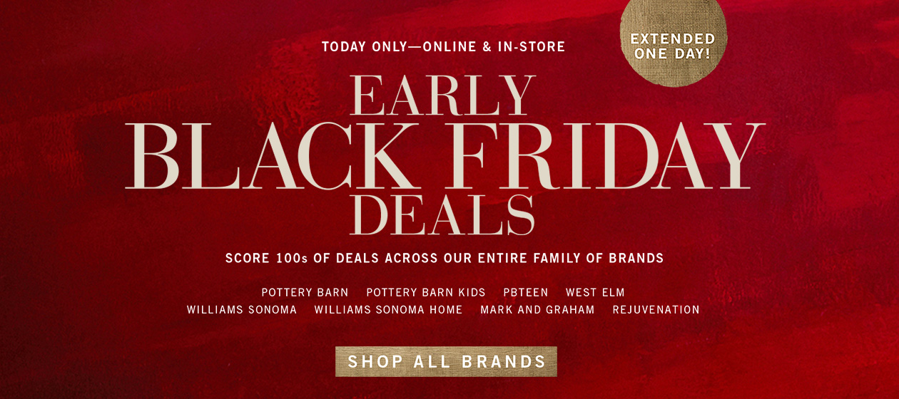 Shop Early Black Friday Deals