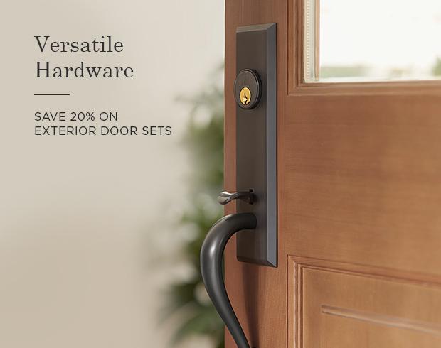 Exterior Door Sets – Save 20%