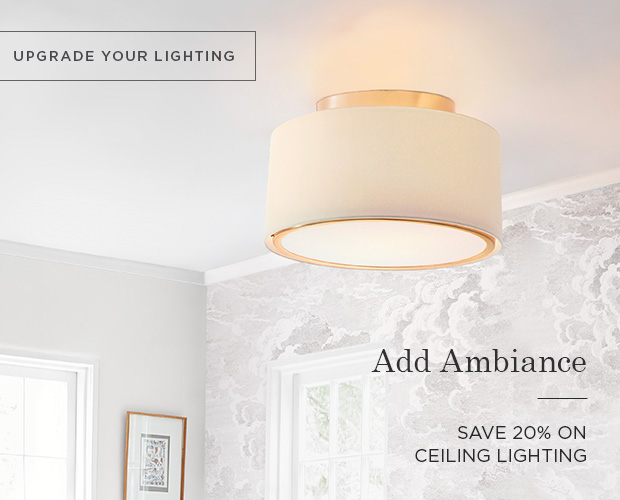 Ceiling Lighting - Save 20%
