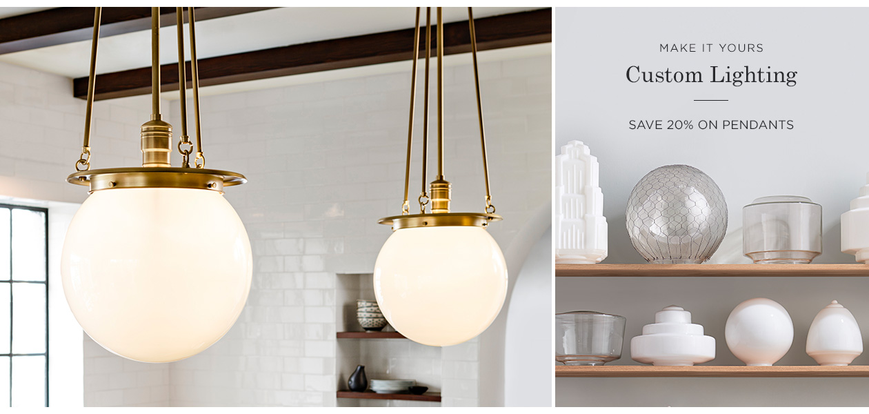 20% Off Pendant Lighting