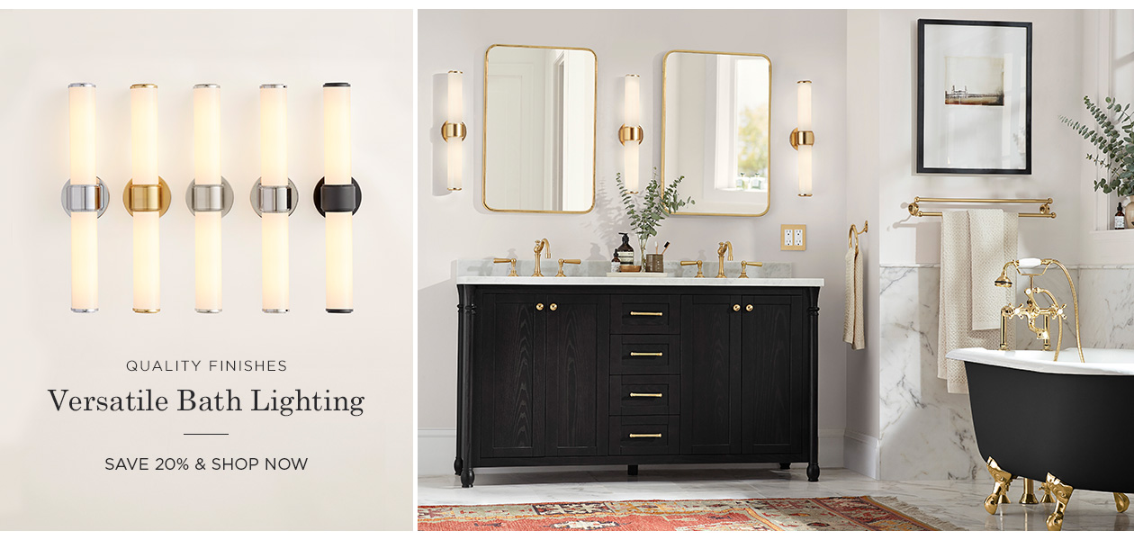 20% Off Bath Lighting