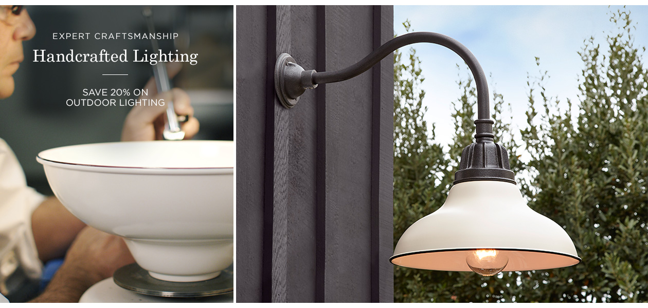 20% Off Outdoor Lighting