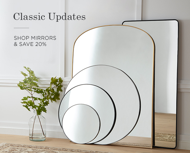 Save 20% on Mirrors