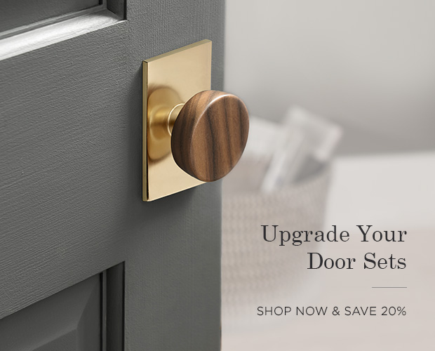 Save 20% on Door Hardware