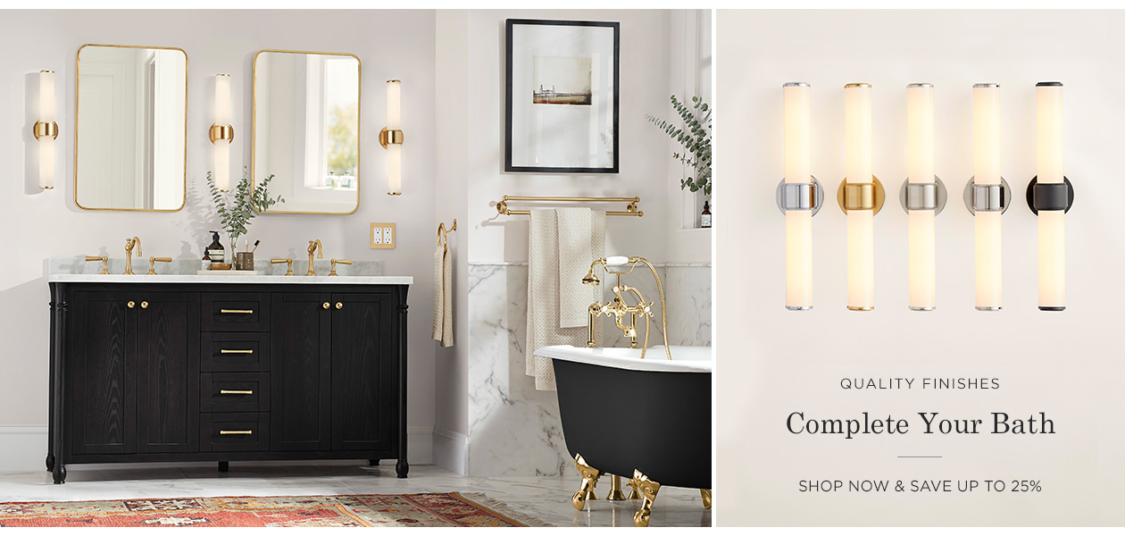 Save up to 25% on Bath