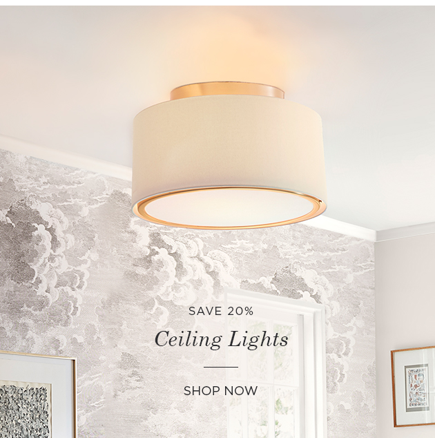 Save 20% on Ceiling Lights