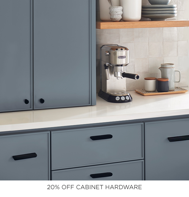 20% Off Cabinet Hardware