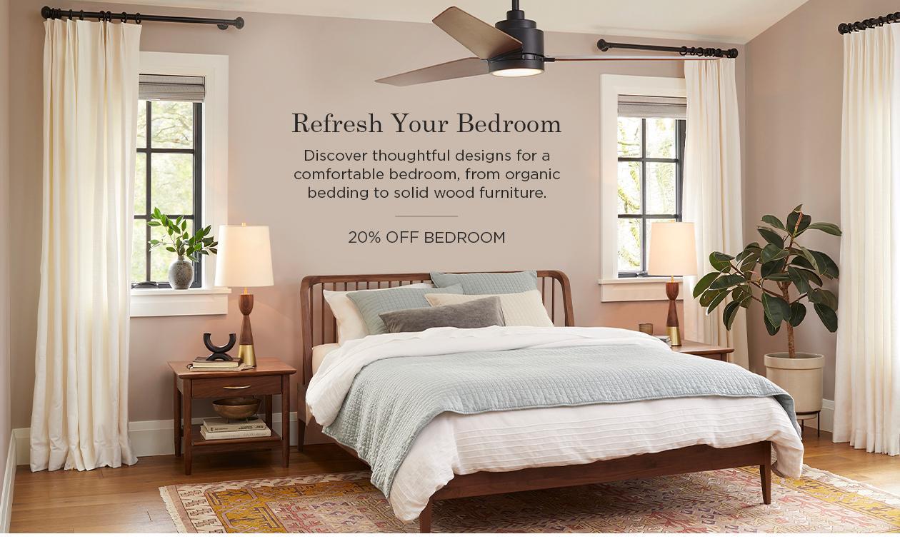 20% Off Bedroom