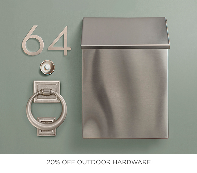 20% Off Outdoor Hardware