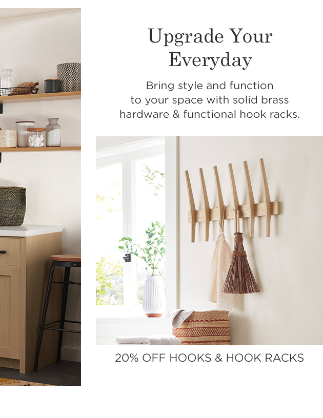 20% Off Hooks & Hook Racks